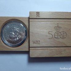 Monedas Juan Carlos I: MONEDA 5000 PESETAS PLATA 1992 . Lote 183333500