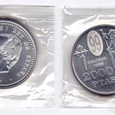 Monedas Juan Carlos I: JUAN CARLOS I. 2000 PESETAS. 1999. Lote 183525627