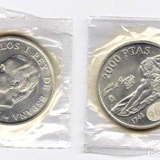 Monedas Juan Carlos I: JUAN CARLOS I. 2000 PESETAS. 1996. Lote 183525671