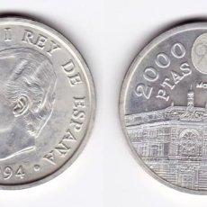 Monedas Juan Carlos I: JUAN CARLOS I. 2000 PESETAS. 1994. Lote 183525726