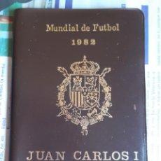 Monedas Juan Carlos I: CARTERA SERIE NUMISMATICA MUNDIAL DE FUTBOL ESPAÑA 82. MONEDAS COLECCION. Lote 183530397