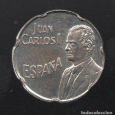 Monedas Juan Carlos I: 50 PESETAS 1990 - ERROR DEL PANTOGRAFO - SIN CIRCULAR. Lote 183675625