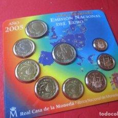 Monedas Juan Carlos I: SET DE LA EMISIÓN NACIONAL DEL EURO. 2005. Lote 183826742
