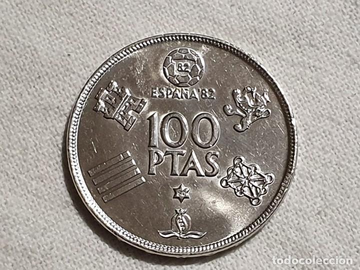 Monedas Juan Carlos I: Moneda 100 pesetas 1980 *1980 - SC - mundial 82 - Foto 4 - 185930998