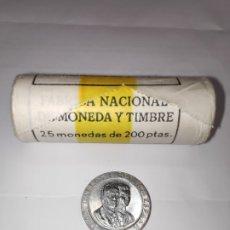 Monedas Juan Carlos I: 200 PESETAS 1990 ESPAÑA-FUENTE LA CIBELES MADRID- BUSTOS, DE REY Y PRINCIPE - S/C. Lote 202852170