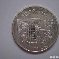 Monnaies Juan Carlos I: 1000 PESETAS PLATA 1999. JUEGOS OLÍMPICOS SIDNEY 2000 WATERPOLO.. Lote 186103715