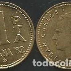 Monedas Juan Carlos I: ESPAÑA 1980 *82 - 1 PESETA - KM 816 - CIRCULADA. Lote 161240778