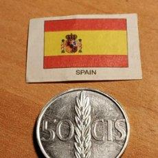 Monnaies Juan Carlos I: 50 CENTIMOS DE 1975 - JUAN CARLOS I. Lote 186409907