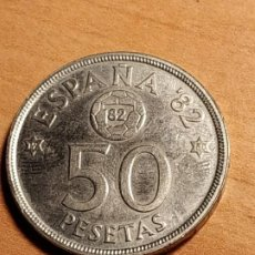 Monnaies Juan Carlos I: 50 PESETAS DE 1980*80 ESPAÑA'82. Lote 186430272