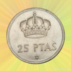 Monedas Juan Carlos I: 25 PESETAS 1975 79 JUAN CARLOS I ESPAÑA S/C. Lote 186437676