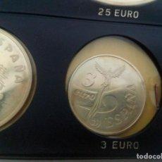 Monedas Juan Carlos I: ESPAÑA. 1998. 3 EURO. V CENTENARIO DEL DESCUBRIMIENTO DE TIERRA FIRME. PLATA. SC. Lote 186439175