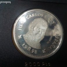 Monedas Juan Carlos I: 2000 PESETAS CASA DE BORBON FERNANDO VII 1998 OCHO REALES PLATA. Lote 199078743