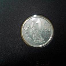 Monedas Juan Carlos I: 1 ECU 1995 LA MARINA ESPAÑOLA (EL ANCLA) - PLATA. CERTIFICADO AUTENTICIDAD. Lote 186447468