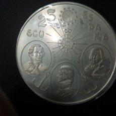 Monedas Juan Carlos I: CINCUENTÍN DE 25 ECU DE PLATA DE 1995 + CERTIFICADO DE AUTENTICIDAD. Lote 186447716
