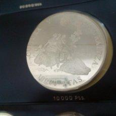 Monedas Juan Carlos I: ESPAÑA: 10000 PESETAS 1996 PROOF CINCUENTÍN III SERIE CULTURA Y NATURALEZA CERTIFICADO AUTENTICIDAD. Lote 186449987