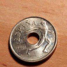 Monedas Juan Carlos I: 25 PESETAS DE 1990 - BARCELONA'92 DISCO. Lote 187079797