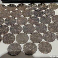 Monedas Juan Carlos I: LOTE DE 31 MONEDAS DE 100 PESETAS MUNDIAL 82. Lote 187315790