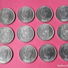 Monedas Juan Carlos I: 100 PESETAS 1976. 12 MONEDAS SIN CIRCULAR.. Lote 269844258