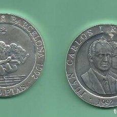Monedas Juan Carlos I: PLATA-ESPAÑA.2000 PESETAS 1992. OLIMPÌADA BARCELONA. ATLETISMO. 27 GR DE LEY 925 MILÉSIMAS. Lote 187542848