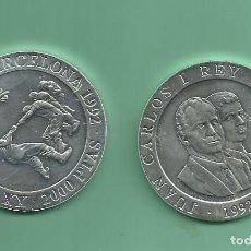 Monedas Juan Carlos I: PLATA-ESPAÑA.2000 PESETAS 1992. OLIMPÌADA BARCELONA. SOGA-TIRA. 27 GR DE LEY 925 MILÉSIMAS. Lote 187542980