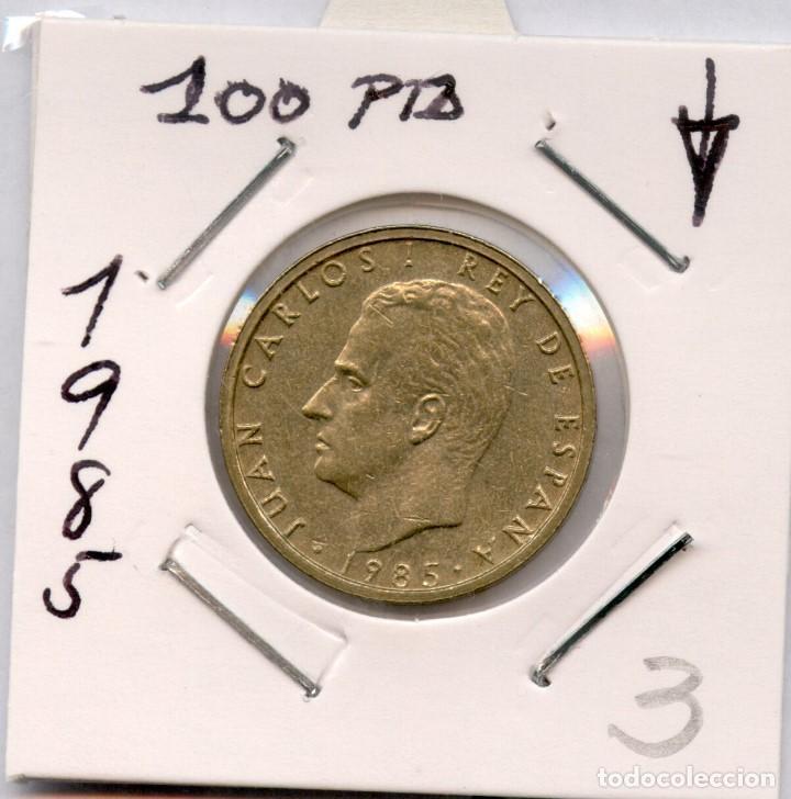 100 PESETAS 1985, UNA DE LAS MAS ESCASAS DE LA SERIE. LIS AL REVERSO (Numismática - España Modernas y Contemporáneas - Juan Carlos I)