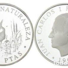 Monnaies Juan Carlos I: ESPAÑA 2000 PESETAS PLATA 1994 PROOF GARZAS IMPERIALES - CULTURA Y NATURALEZA. Lote 188640083