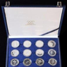 Monedas Juan Carlos I: SERIE 16 MONEDAS 2.000 PESETAS. 1990 A 1992. AR. SERIES I A IV COMPLETAS EN PLATA. EN ESTUCHE. FDC. Lote 188700656