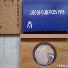 Monedas Juan Carlos I: 1000 PESETAS PLATA AÑO 1995. JUEGOS OLIMPICOS ATLANTA 1996.. Lote 189213397