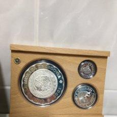 Monedas Juan Carlos I: CASA DE LA MONEDA DE SEGOVIA COLECCIÓN PLATA PROOF AÑO 2001. Lote 190022212