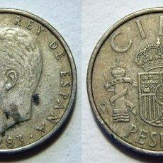 Monedas Juan Carlos I: MONEDA DE JUAN CARLOS I 100 PESETAS 1983. Lote 222724961