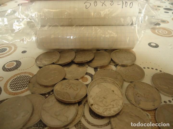 MONEDAS DE ALUMINIO DE DOS PESETAS (Numismática - España Modernas y Contemporáneas - Juan Carlos I)