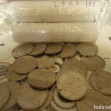 Monedas Juan Carlos I: MONEDAS DE ALUMINIO DE DOS PESETAS. Lote 190224068