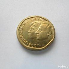 Monedas Juan Carlos I: MONEDA DE 500 PESETAS DE 2001 SIN CIRCULAR. Lote 191110855