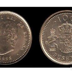 Monedas Juan Carlos I: ESPAÑA: 100 PESETAS 1998 S/C REY D. JUAN CARLOS I - SPAIN . Lote 191332103