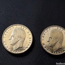 Monete Juan Carlos I: JUAN CARLOS I.100 PESETAS.1983. SIN CIRCULAR. 2 MONEDAS. Lote 207965307