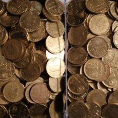 Monnaies Juan Carlos I: MONEDAS DE 1 PESETA DEL MUNDIAL 82 - JUAN CARLOS I APROXIMADAMENTE 1300 MONEDAS (4.6 KG). Lote 191420368