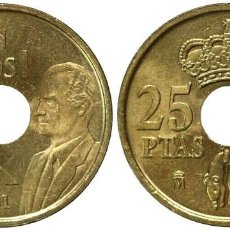Monedas Juan Carlos I: ESPAÑA 25 PESETAS 2001 REY JUAN CARLOS I S/C. Lote 222707432