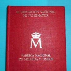 Monedas Juan Carlos I: III EXPOSICION NACIONAL DE NUMISMATICA 1987, ESTUCHE DE MONEDAS. Lote 191531038