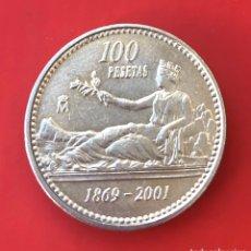 Moedas Juan Carlos I: 100 PESETAS 2001. Lote 191730823