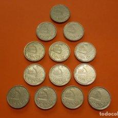 Monedas Juan Carlos I: 13 MONEDAS DE 100 PESETAS AÑO 1993 - USADAS - ... L633. Lote 191992212