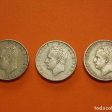 Monedas Juan Carlos I: 3 MONEDAS DE 100 PESETAS AÑO 1982 - USADAS - ... L636. Lote 191998987