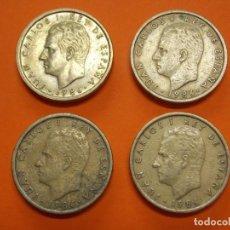 Monedas Juan Carlos I: 4 MONEDAS DE 100 PESETAS AÑO 1986 - USADAS- ... L640. Lote 192000500