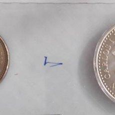 Monedas Juan Carlos I: SET DE MONEDAS DE 2000 Y 100 PESETAS. 2001. Lote 39684684