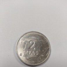 Monedas Juan Carlos I: MONEDA DE 2 PESETAS DE 1982 SIN CIRCULAR DE CARTUCHO. Lote 203548957