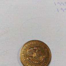 Monedas Juan Carlos I: MEDALLA DE XXIII FERIA NACIONAL DEL SELLO 1 AL 10 VI 1990 II FERIA PREOLIMPICA PLAZA MAYOR MADRID. Lote 193344846