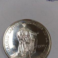 Monedas Juan Carlos I: MONEDA CINCO 5 ECU ECUS 1992 MADRID DE CAPITAL EUROPEA LA CULTURA ALBUM.SIN CAJA CERTIFICADO PLATA. Lote 193345370