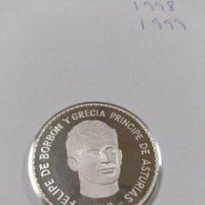Monedas Juan Carlos I: MEDALLA MONEDA CONMEMORATIVA 1 ONZA PLATA PURA FELIPE DE BORBON Y GRECIA PRINCIPE DE ASTURIAS 1968. Lote 193345816
