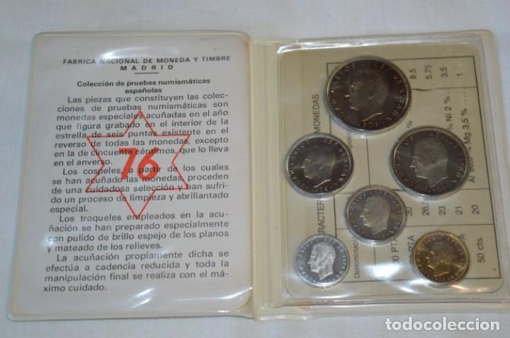 Monedas Juan Carlos I: LOTE DE 6 CARPETAS DE PRUEBAS NUMISMÁTICA, todas diferentes ¡Mira fotos y detalles! - Foto 2 - 193912781