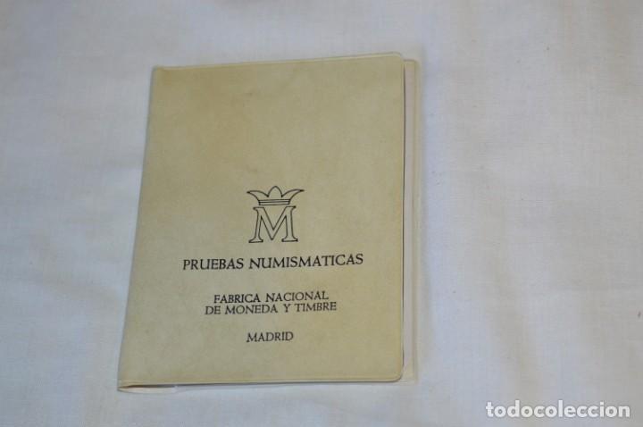 Monedas Juan Carlos I: LOTE DE 6 CARPETAS DE PRUEBAS NUMISMÁTICA, todas diferentes ¡Mira fotos y detalles! - Foto 3 - 193912781