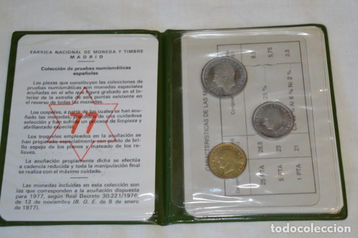 Monedas Juan Carlos I: LOTE DE 6 CARPETAS DE PRUEBAS NUMISMÁTICA, todas diferentes ¡Mira fotos y detalles! - Foto 4 - 193912781